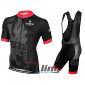 2016 Bianchi Cycling Jersey And Bib Shorts Kit Red And Black
