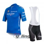 2016 Giro d'Italia Cycling Jersey And Bib Shorts Kit Blue