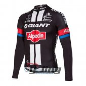 2016 Giant Alpecin Long Sleeve Cycling Jersey and Bib Pants Kits