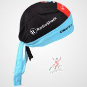 2013 Radioshack Cycling Scarf black and blue