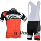 2014 Northwave Cycling Jersey and Bib Shorts Kit Black Orang