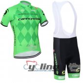 2016 Cannondale Garmin Cycling Jersey And Bib Shorts Kit Green