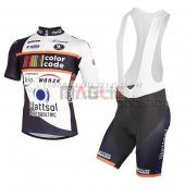 Color Code Cycling Jersey Kit Short Sleeve black
