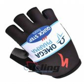 2014 Cycling Gloves Blue And Black