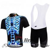 2012 Northwave Cycling Jersey and Bib Shorts Kit Black Blue