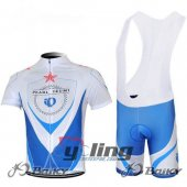 2012 Pearl Izumi Cycling Jersey And Bib Shorts Kit Blue And Whit