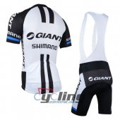 2014 Giant Alpecin Cycling Jersey and Bib Shorts Kit White B