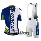 2015 Specialized Cycling Jersey And Bib Shorts Kit White And Gre