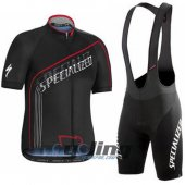 2016 Specialized Cycling Jersey And Bib Shorts Kit Black
