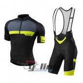 2016 Specialized Cycling Jersey And Bib Shorts Kit Black And Yel