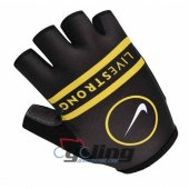 2014 Cycling Gloves Black And Yellow