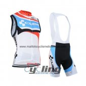 Cube Wind Vest White And Blue 2014