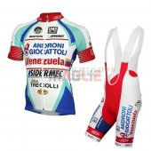 Androni Giocattoli Cycling Jersey Kit Short Sleeve 2014 white