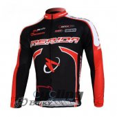 2012 Merida Long Sleeve Cycling Jersey And Bib Pants Kits Black