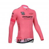 2014 Giro d'Italia Long Sleeve Cycling Jersey And Bib Pants Kits