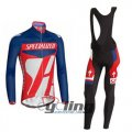 2014 Specialized Long Sleeve Cycling Jersey And Bib Pants Kits B