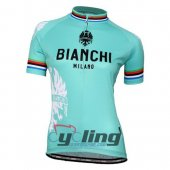 2016 Bianchi Cycling Jersey And Bib Shorts Kit Green