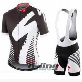 2016 Specialized Cycling Jersey And Bib Shorts Kit Black And Whi
