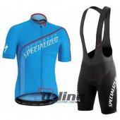 2016 Specialized Cycling Jersey And Bib Shorts Kit Blue