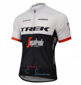 2016 Trek Factory Cycling Jersey And Bib Shorts Kit White And Bl