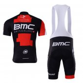 2017 BMC Cycling Jersey and Bib Shorts Kit red and black