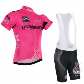 2016 Tour De Italia Cycling Jersey And Bib Shorts Kit Pink And Black