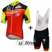 2016 Wilier Cycling Jersey And Bib Shorts Kit Black And Red
