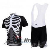 2012 Northwave Cycling Jersey and Bib Shorts Kit Black White
