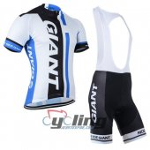 2014 Giant Cycling Jersey And Bib Shorts Kit Black And Blue