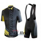 2015 Specialized Cycling Jersey And Bib Shorts Kit Black And Yel
