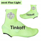 2016 Saxo Bank Tinkoff Cycling Shoe Covers green