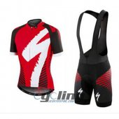 2016 Specialized Cycling Jersey And Bib Shorts Kit Red And White