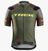 2016 Trek Factory Cycling Jersey And Bib Shorts Kit ArmyGreen