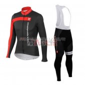Castelli 3T Cycling Jersey Kit Long Sleeve 2015 black and red