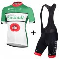 2016 Euskaltel Euskadi Cycling Jersey And Bib Shorts Kit Black A