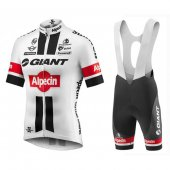 2016 Giant Cycling Jersey And Bib Shorts Kit White And Red