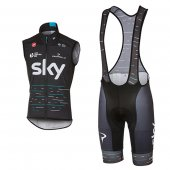 Sky Windvest 2017 blue and black