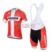 Stolting Cycling Jersey Kit Short Sleeve 2017 white and red