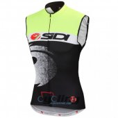 Sidi Wind Vest Black And Green 2015