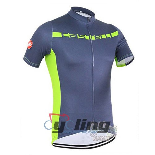434d8d134 Wholesale 2016 Castelli Cycling Jersey And Bib Shorts Kit Gray And Green
