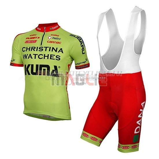 a1063b04d Christina Watches Onfone Cycling Jersey Kit Short Sleeve 2014 green.  Loading zoom